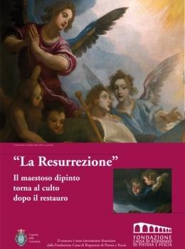 """Restauro de """"La resurrezione"""""""