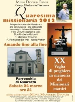 Veglia Missionaria 2012