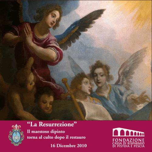 """""""La resurrezione"""",il restauro"""