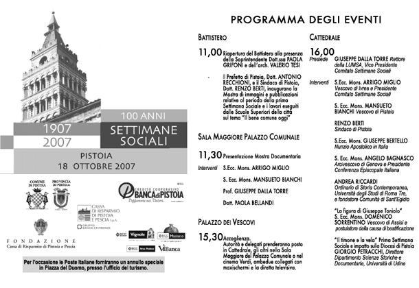 Settimane sociali 2007